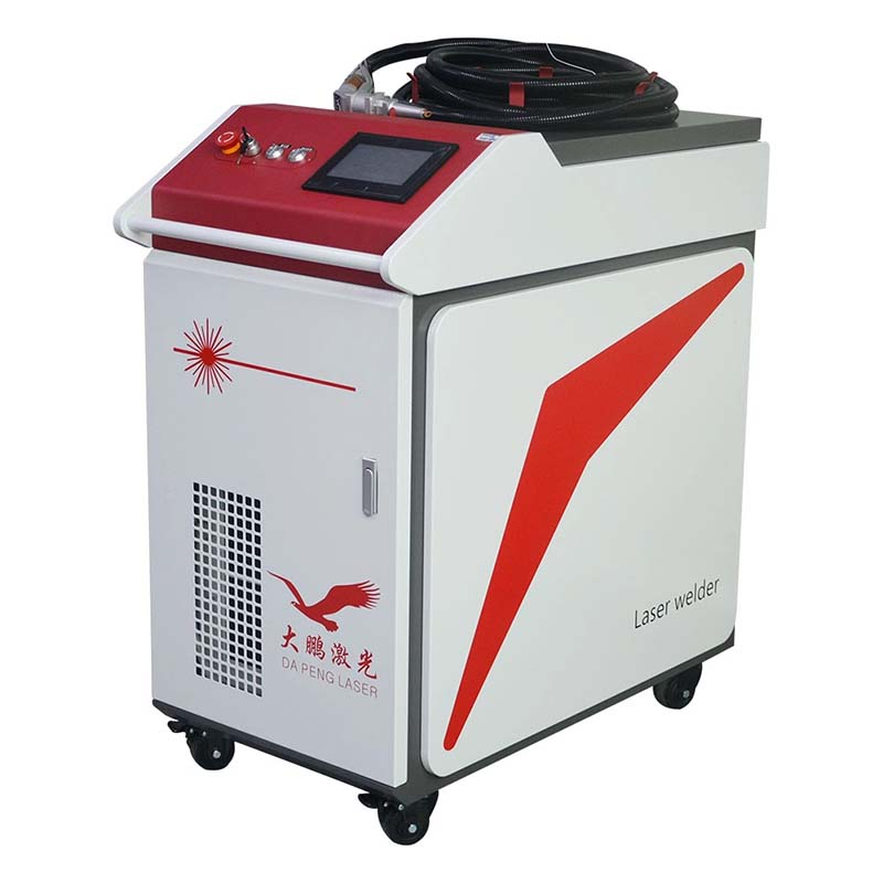 Handheld 1000w Raycus channel letter optical fiber welder aluminum ss laser welding machine for saw blades chair table